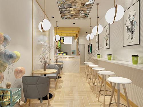 装修设计风格决定你的奶茶店是否有情调
